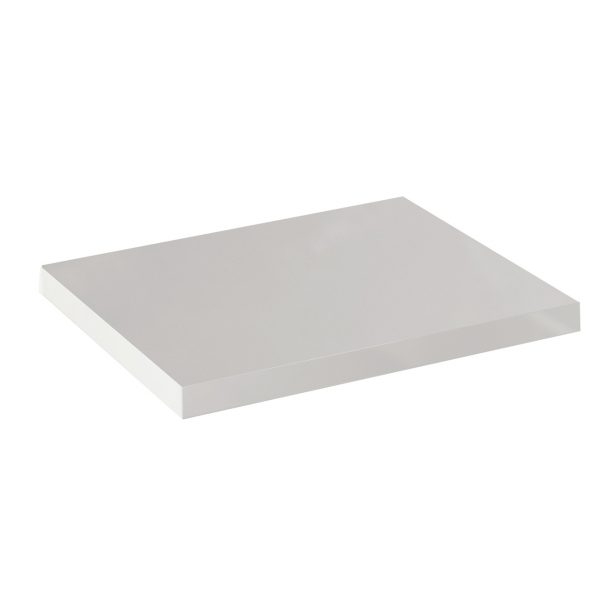 Echo worktop 1200x450mm in white gloss