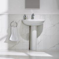 Ivo 610mm Full Pedestal Basin Imex
