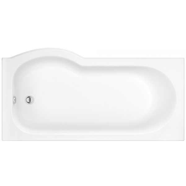 Suburb right hand shower bath 1700