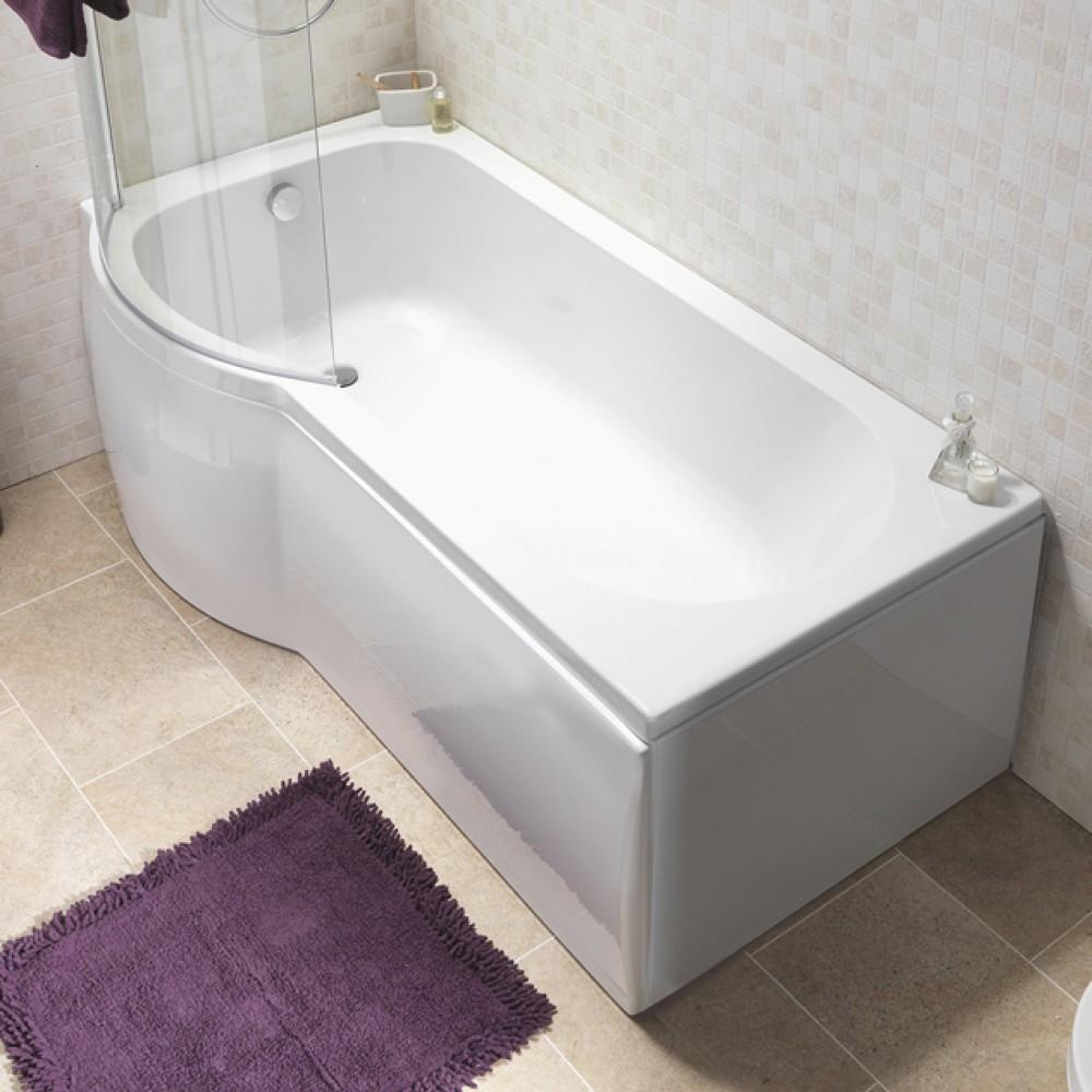 Suburb left hand shower bath