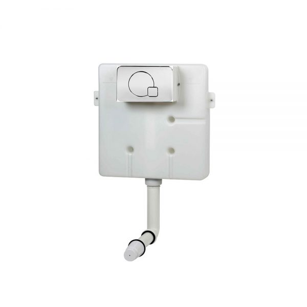Cable operated concealed cistern